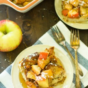 Cranberry Apple French Toast Bake