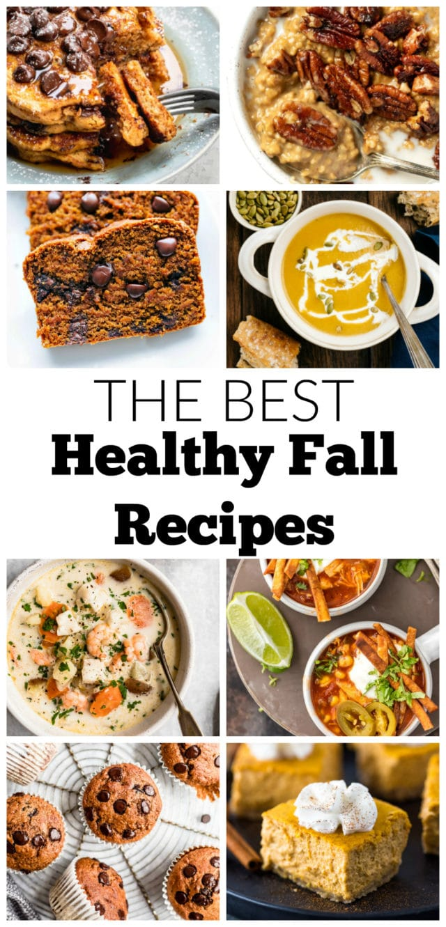 The Best Healthy Fall Recipes From Breakfast to Dinner