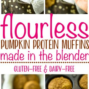 Moist and packed with fall flavor and the perfect amount of spice, these Pumpkin Protein Muffins are so deliciousthat I can guarantee no one will ever know that they're loaded with protein and healthy carbs, and that they are low in sugar!With this winning combination of flavor and nutrition, they are sure to be a hit this fall season!