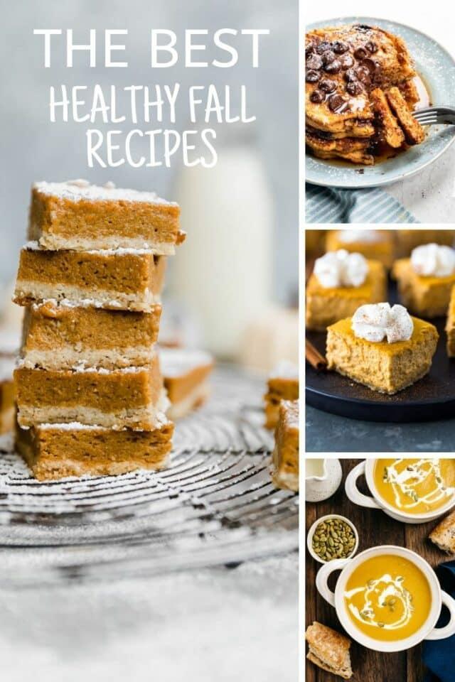 30 Healthy Fall Recipes