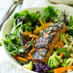 Blackened Ginger Glazed Salmon
