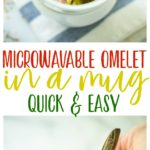 With this Microwavable Omelet in a Mug, you're only 2 minutes away from asatisfying, tasty breakfast that can be easily customized. No matter how you eat it, a flavorful breakfast never got easier! Gluten Free + Low Calorie + Paleo