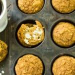 Pumpkin Protein Muffins (Gluten Free & Dairy Free)