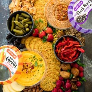 Hummus Platter Made Easy