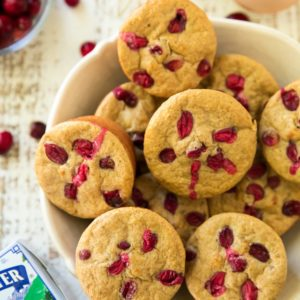 Cranberry Apple Muscle Muffins