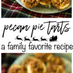 These Pecan Pie Tarts have been a family favorite for as long as I can remember. They're the BEST treat to enjoy and give during the holiday season. Perfectly sweet, with an ooey gooey center and flaky melt in your mouth buttery crust. Your family and friends are sure to love this dessert!