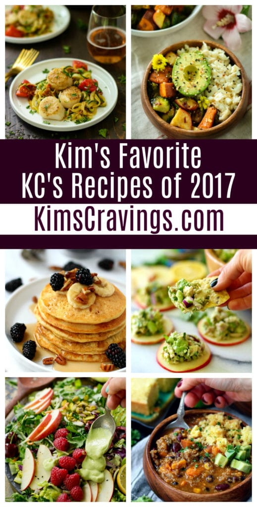 Kim's Favorite Recipes of 2017 From Kim's Cravings
