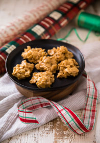 Grandma's Special K No Bake Cookies are absolutely addictive, with an irresistible mix of crunchy cereal flakes, sweet sugar with salty peanut butter!