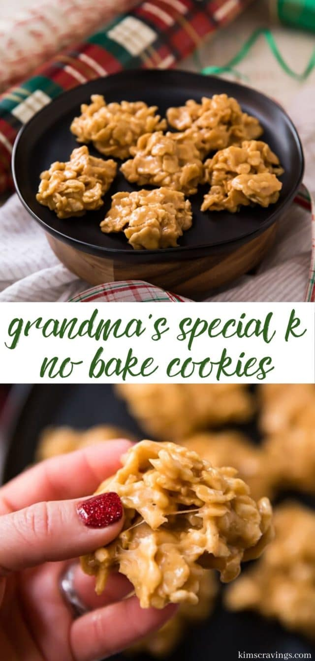 how to make peanut butter no bake cookies
