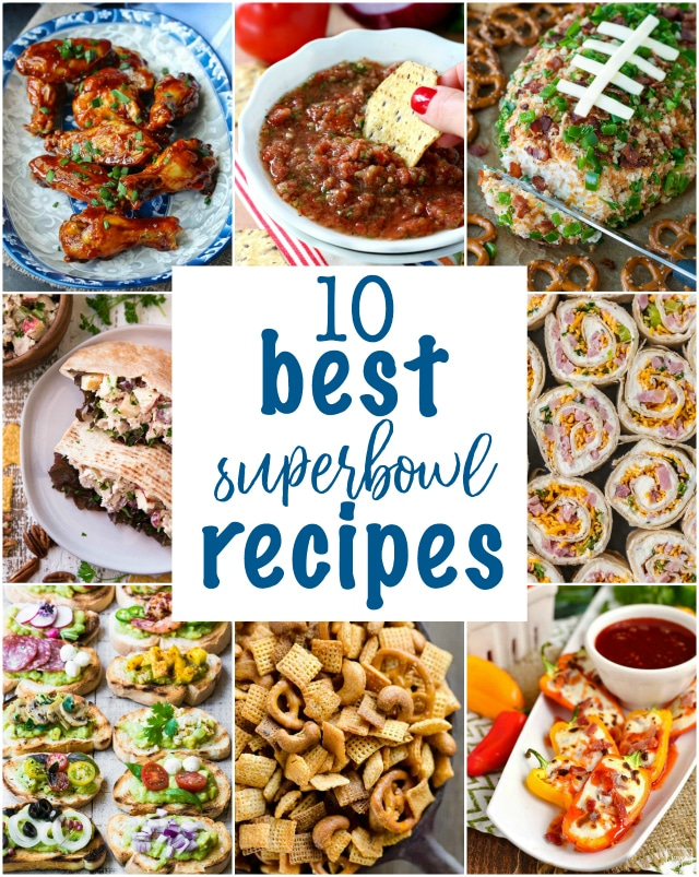 The BIG game is almost here. Have you prepared your snack time menu? Well, checkout my roundup of the top 10 Best Super Bowl recipes to serve guests!