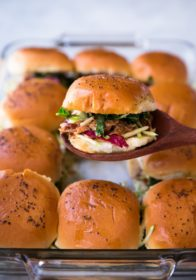 These Easy Pulled Pork Sliders are super quick to whip up, full of flavor, and absolutely drool worthy. Top them with your favorite coleslaw for an extra special touch.