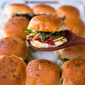 Easy Pulled Pork Sliders