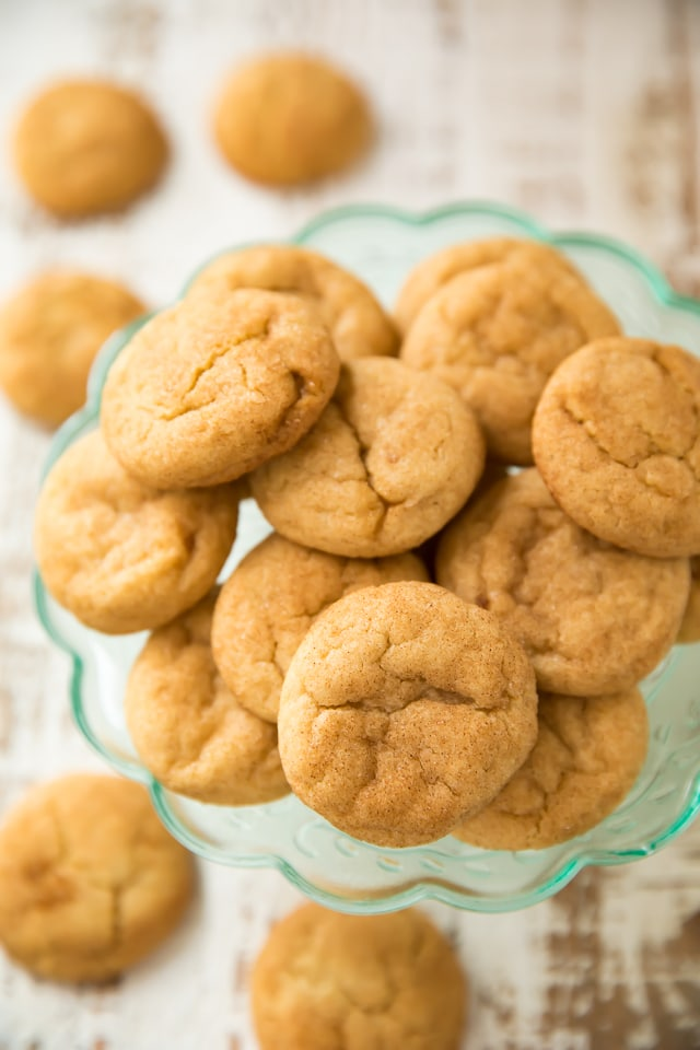fluffy snickerdoodles for Christmas