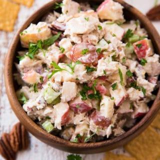 Waldorf Tuna Salad Pitas