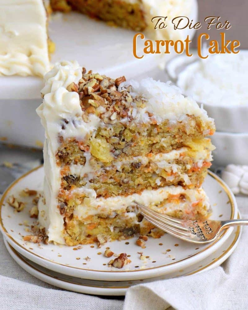 This cake receives rave reviews for it's unbelievable moistness and flavor!