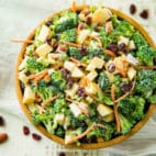 This Healthy Broccoli Apple Salad isthe perfect easy side dish for spring and summer barbecues, potlucks and picnics. Best of all, it's so easy to make with broccoli, apples, almonds, dried cranberries and a homemade tasty dressing.