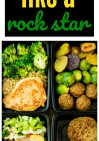 Meal prep your way to healthier, happier, more satisfied you! With Personal Trainer Food you're given the choice of a variety of delicious, easy meal prep options.Get organized at the beginning of a busy week by meal prepping healthy and delicious breakfasts, lunches, dinners and snacks!