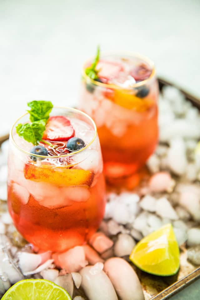 photo of Rosé Tequila Summertime Cocktail