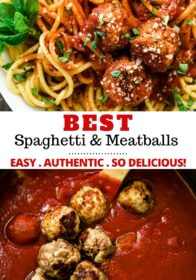 how to make the best spaghetti and meatballs