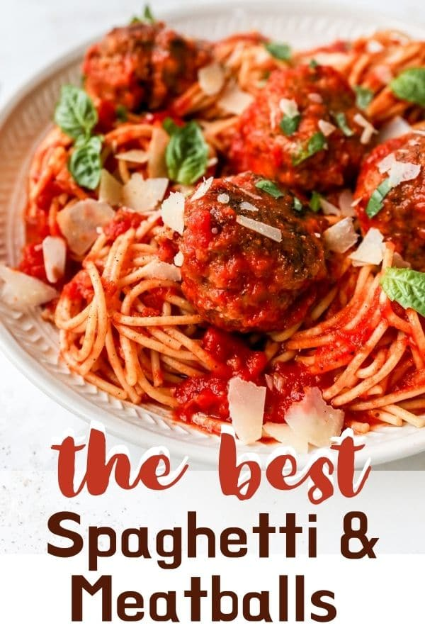 classic spaghetti and meatball recipe