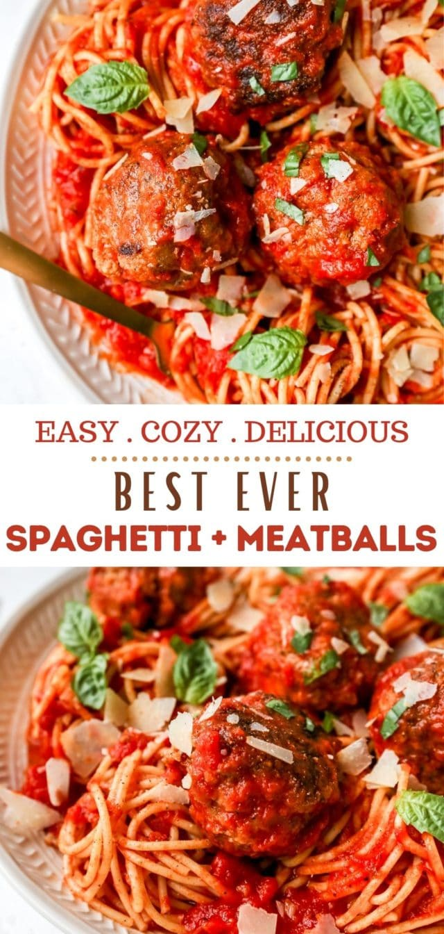 how to make authentic spaghetti and meatballs