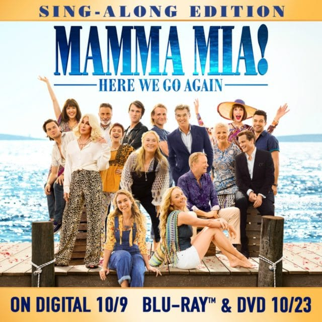 front of the DVD image for Mamma Mia 2