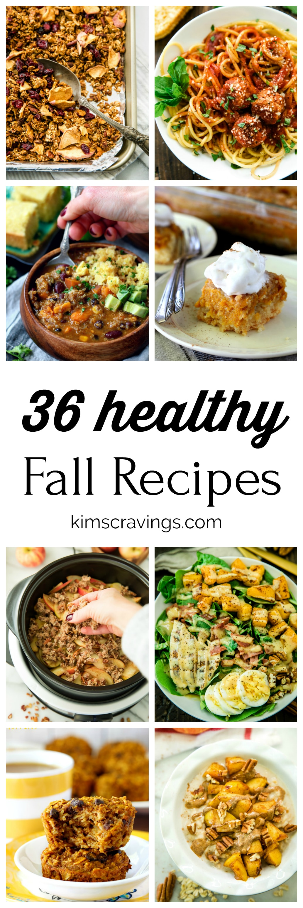 Delicious, cozy recipes to make in October and November coming your way! Stock up on extra pumpkin, winter squash, apples, brussels sprouts and more to make these healthy fall recipes.