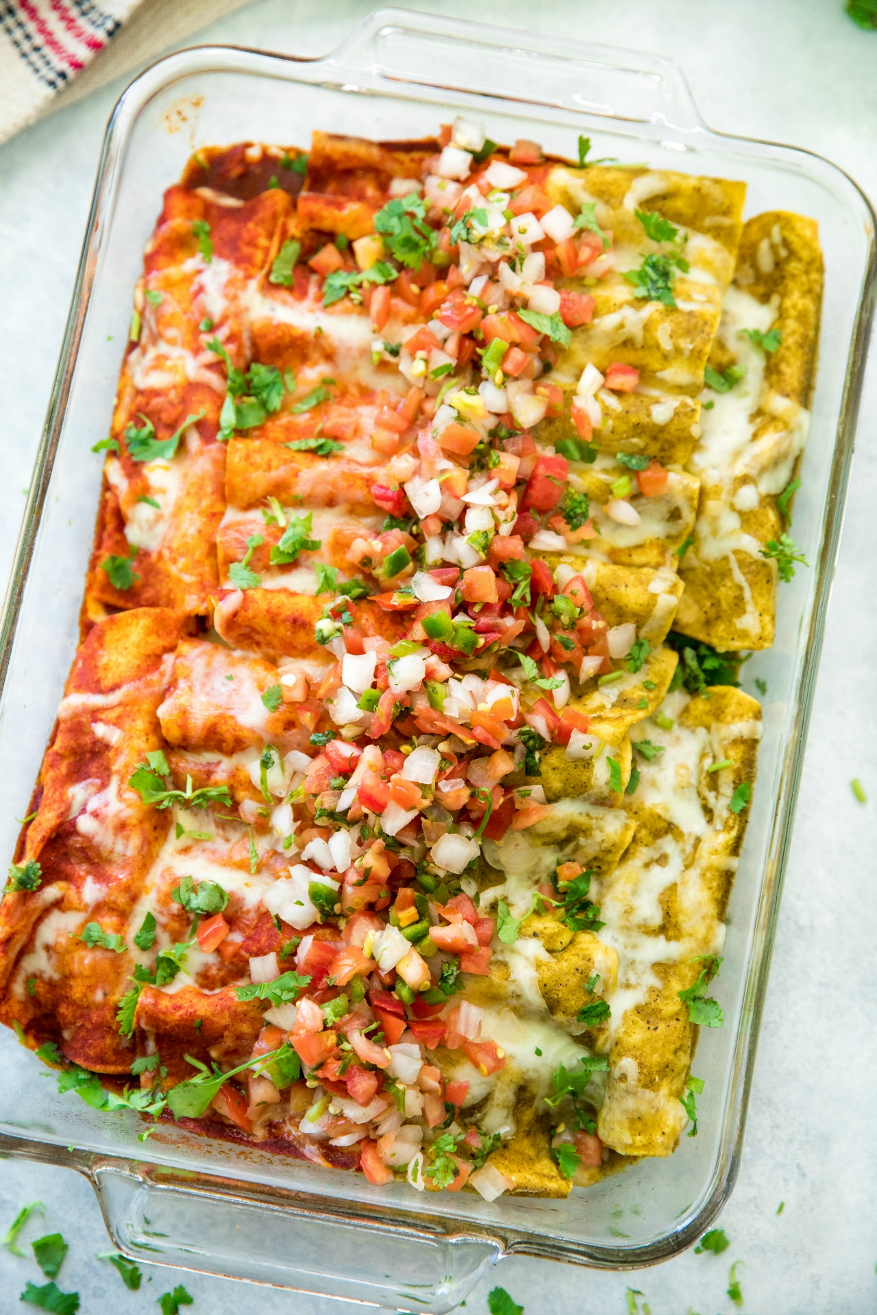 Fast Easy Chicken Enchiladas Kim S Cravings
