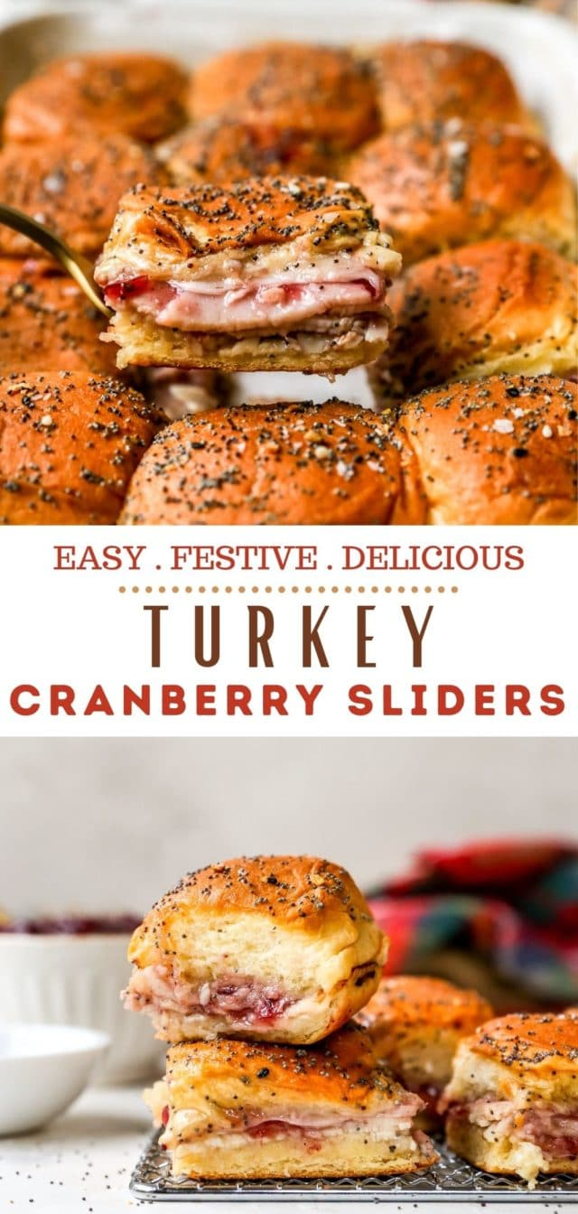 how to make turkey cranberry sliders