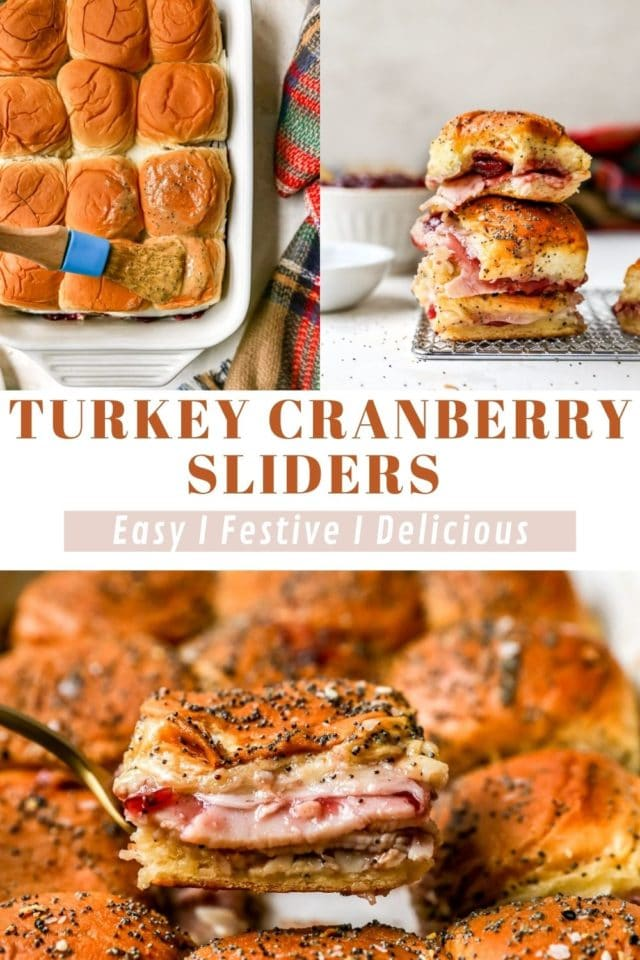 recipe for Turkey Cranberry Sliders