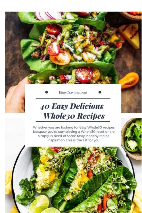 easy whole30 recipes