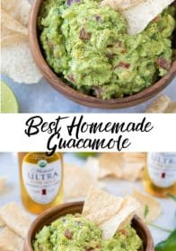 how to make homemade guacamole