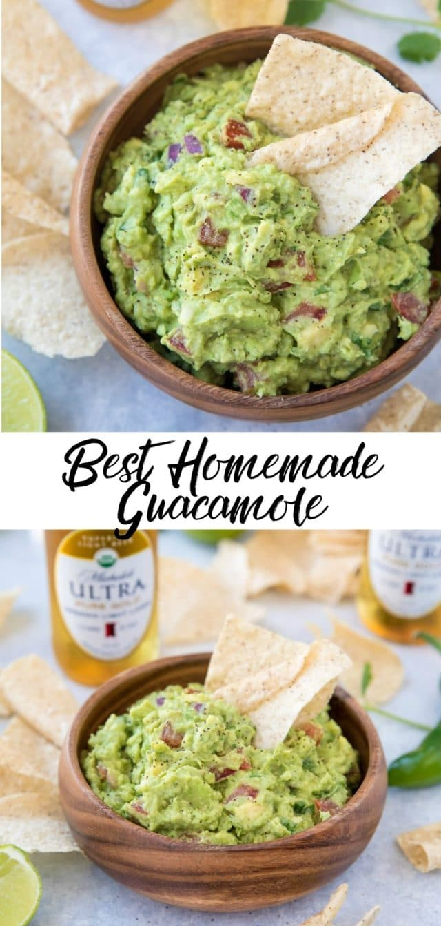 Best Homemade Guacamole Video Kim S Cravings