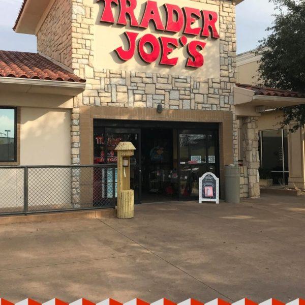 Trader Joe's storefront in Fort Worth