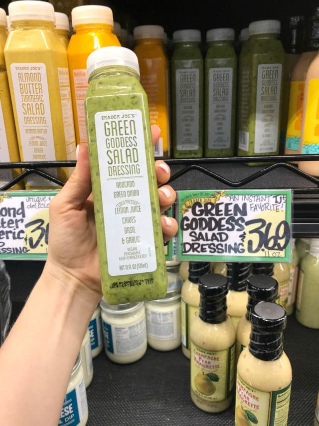 Green Goddess dressing from Trader Joe's