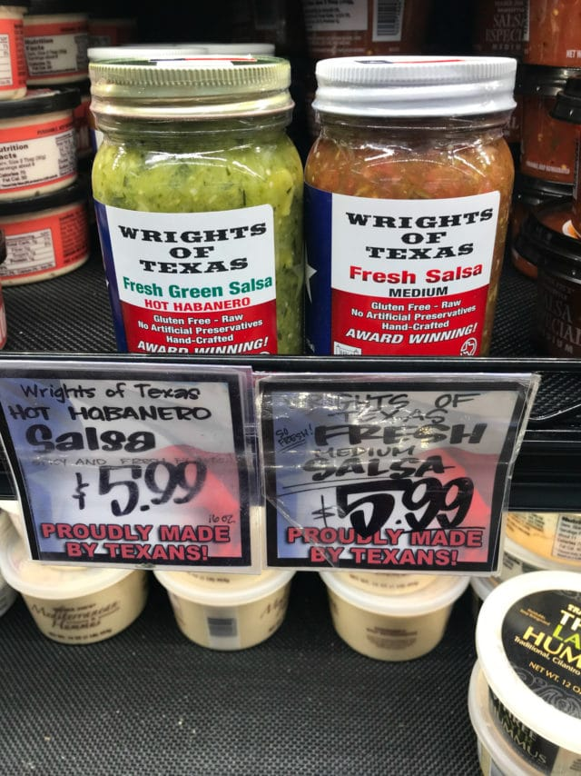 Wrights of Texas Fresh Salsa from Trader Joe's