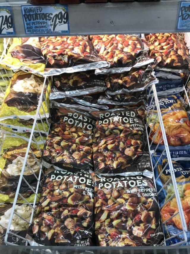 Frozen Roasted Potatoes from Trader Joe's