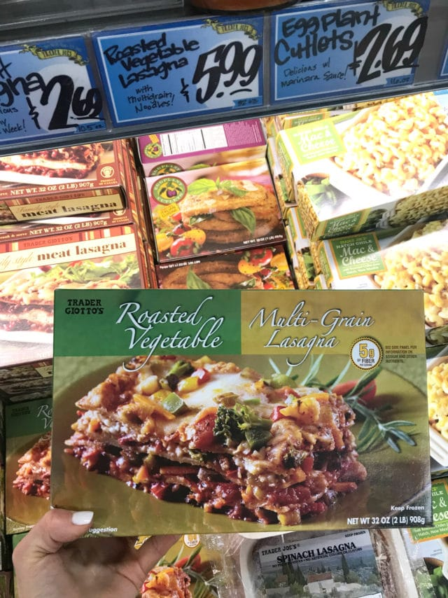 Frozen Roasted Vegetable Whole Grain Lasagna