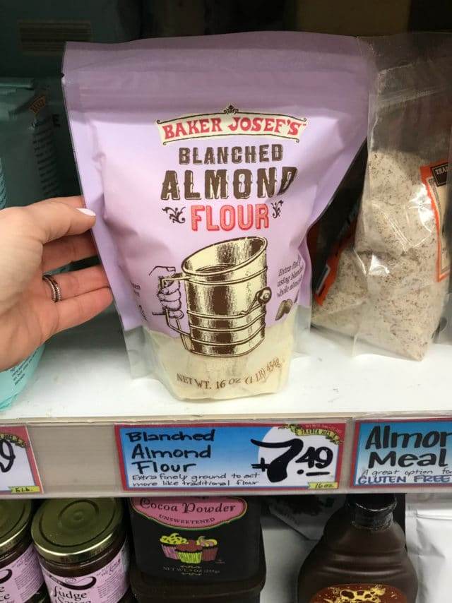 blanched almond flour from Trader Joe's
