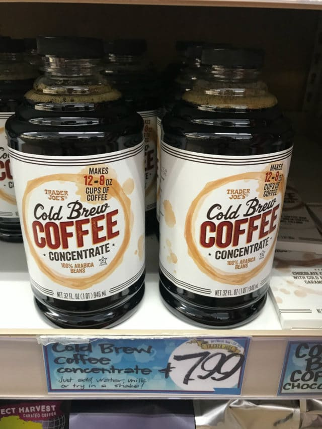 Cold Brew Coffee from Trader Joe's