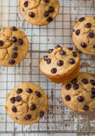 how to make banana protein muffins