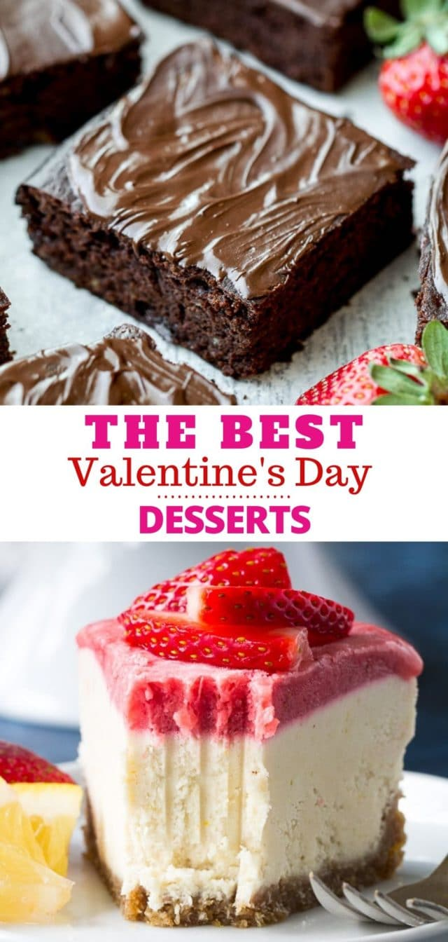 how to make the best Valentine's Day Desserts