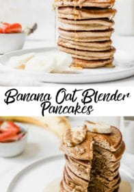 how to make gluten-free banana oat pancakes
