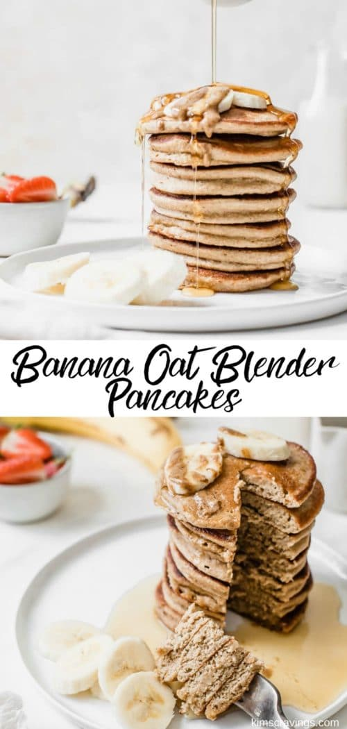 how to make gluten-free banana oat pancakes