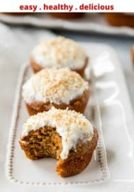 how to make healthy carrot cake muffins