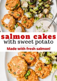 how to make salmon patties with a creamy dill sauce