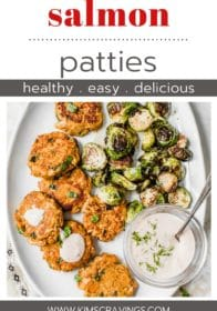 how to make salmon cakes that are healthy