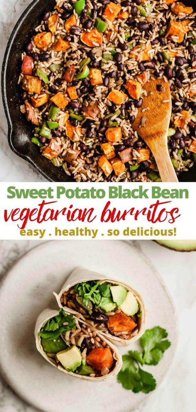 how to make vegetarian burritos