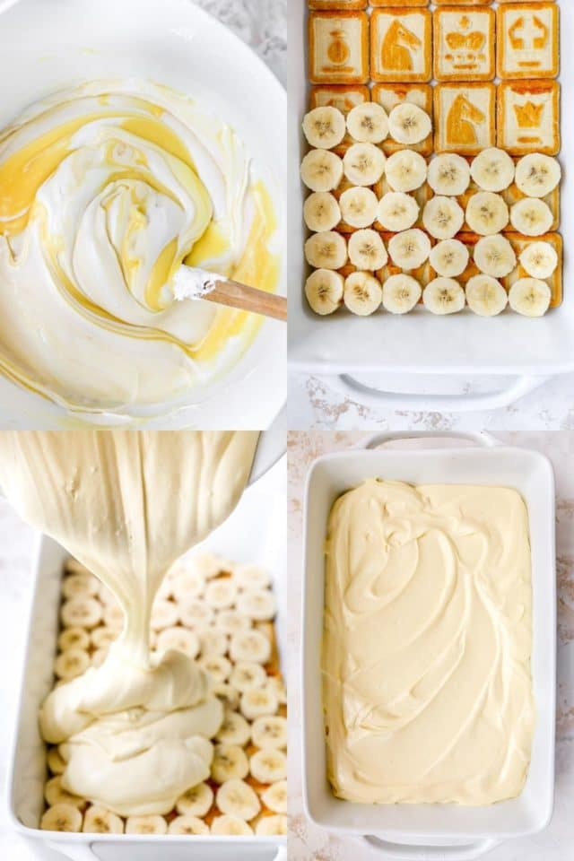 instructions for making the best banana pudding