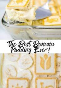 best banana pudding made with Chessman cookies
